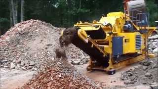 Video still for RM60 crushing brick, block and concrete