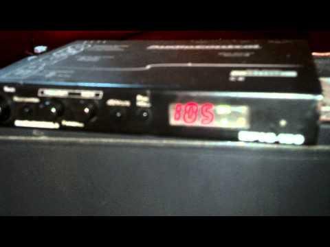 Epic-150 Audio Control  Restaurador De Bajos,medidor De Voltaje Y SPL