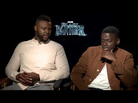Black Panther stars Daniel Kaluuya & Winston Duke