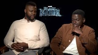 Black Panther stars Daniel Kaluuya & Winston Duke Interview