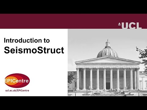 Introduction to SeismoStruct
