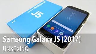 Samsung Galaxy J5 (2017) Unboxing (Midrange Affordable Samsung Phone)