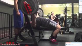Get your power forum -- Benchpress Dartfish analysis