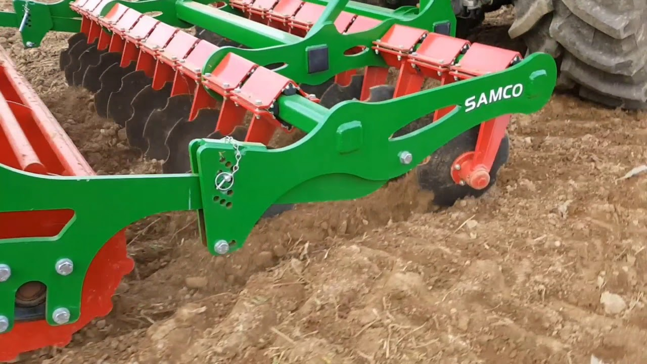 Samco disc harrow