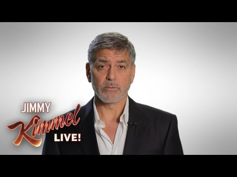 See George Clooney Blast 'Dumbf-ckery' of Trump, Climate Change Skeptics on 'Kimmel'