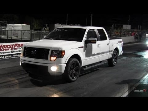 Ecoboost 2012 Ford F150 Fx2 Drag Race Video Amp Bmw M5 Loses