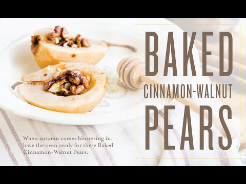 baked-cinnamon-walnut-pears-recipe-|-young-living-essential-oils