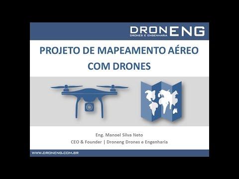 Webinar | Drones: Mapeamento Aéreo, Plano de Voo