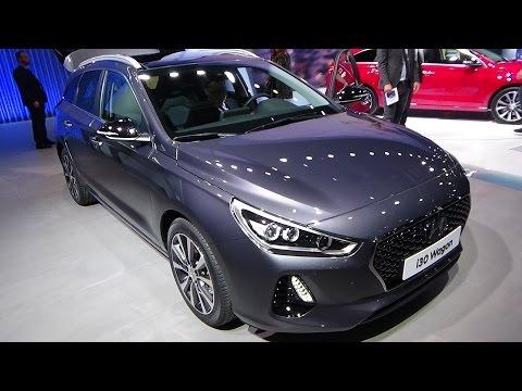 2018 Hyundai i30 Wagon Exterior and Interior Geneva Motor Show 2017