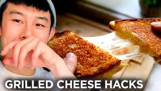 I Made Grilled Cheese Sandwiches Using 11 Hacks In A Row  Tasty
