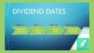 IMPORTANT MUST KNOW DIVIDEND DATES! | Dividend Investing 101