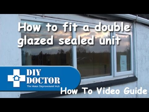 Replacing A Sealed Unit In Double Glazed Window
