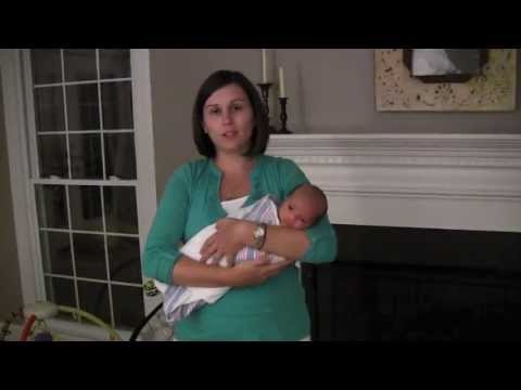 Calming a fussy baby