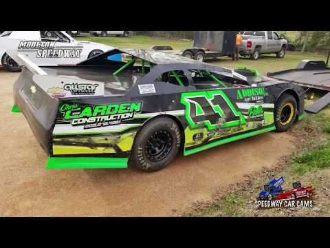 #41 Jason Baker - Street Stock - 3-17-18 Moulton Speedway - In Car Camera