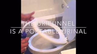 Urifunnel- The portable urinal for your special needs