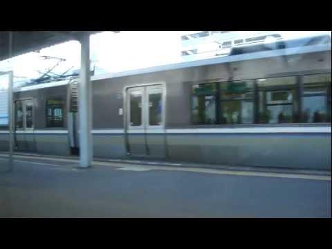 JR Sanyo main line. Higashi-Kakogawa Sta. to Tsuchiyama Sta.