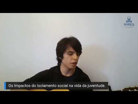 Live #MaristaemCasa - Os Impactos do Isolamento Social na Vida da Juventude