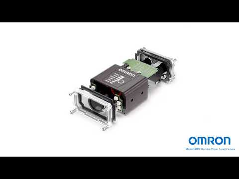 Look inside a smart camera: MicroHAWK from OMRON blowout video