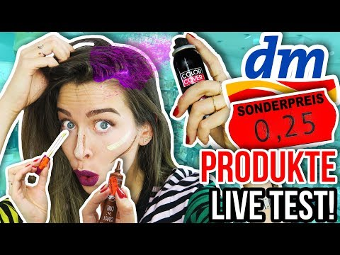 10 DM SALE PRODUKTE im TEST! 😨 Was kann REDUZIERTES MAKE-UP?! | DM Haul März 2018 from YouTube · Duration:  10 minutes 59 seconds