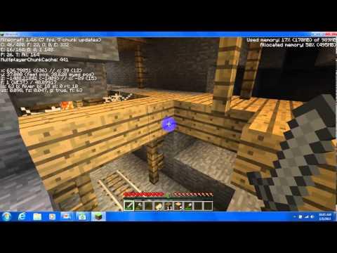 minecraft letsplay ep1 getting suplies