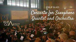 Concerto for Saxophone Quartet and Orchestra (Mov I, IV) – Philip Glass
