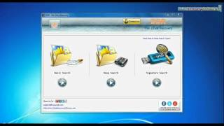 Recover deleted data files from SanDisk Ultra USB Drive by using DDR Pen Drive Recovery Software