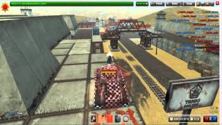 Tanki Online   New Gun 'Vulcan'(Tanki just got a new gun and it's a beast, try it out yourself in test before it gets released. Tanks you for watching like ,sub and peacee., 2015-02-02T17:42:57.000Z)