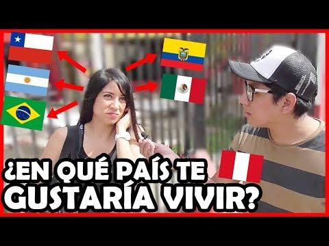 ¿Qué país prefieren para Emigrar en PERÚ (Latinoamérica)?   Peruvian Life