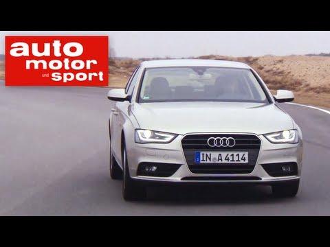 Einzeltest Audi A4 2.0 TFSI