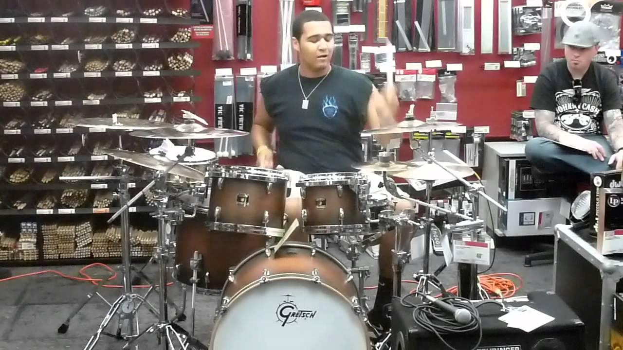 guitar center drum off 2012 tyler sherard youtube. Black Bedroom Furniture Sets. Home Design Ideas