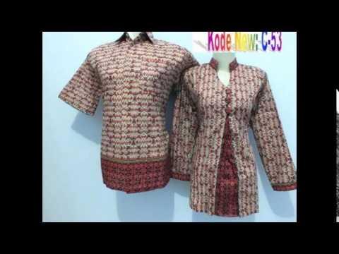Model Seragam Batik Kerja Modern HP 081330534158 - YouTube 3343a43725