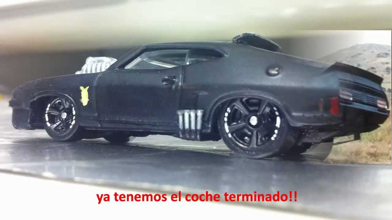 Tutorial: Mad Max Interceptor V8 escala 1:64, Ford Falcon