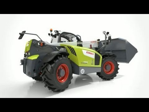 CLAAS SCORPION 7055 Assembly / 2013