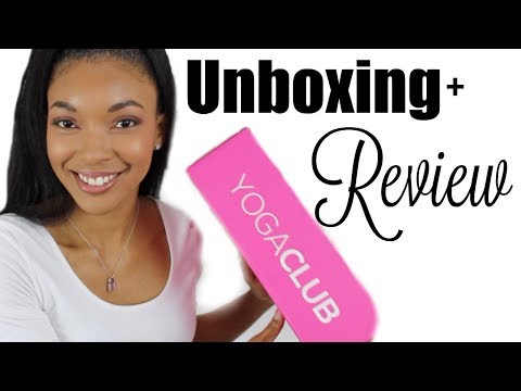 Fitness Subscription Box Unboxing, Try-On Haul & Review! Featuring YogaClub | Brittany Daniel