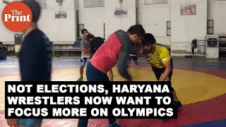 Not elections, Haryana wrestlers now want to focus more on Olympics
