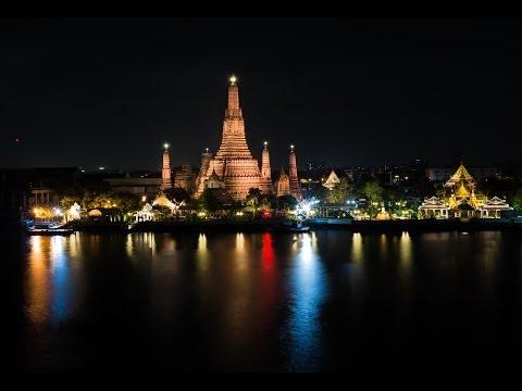 Good Night Bangkok - ราตรีสวัสดิ์กรุงเทพ (Time Lapse HD 1080p)