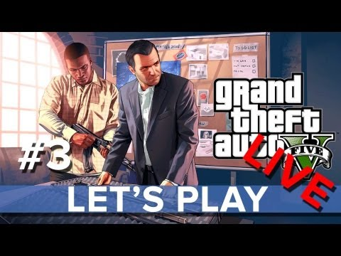 Grand Theft Auto 5 - Let's Play LIVE #3 - Eurogamer