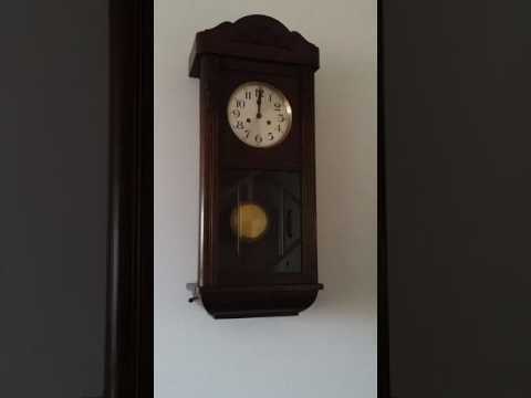 Bim Bam Clock Klok Oud Hollands Bij Iemand Thuis Youtube