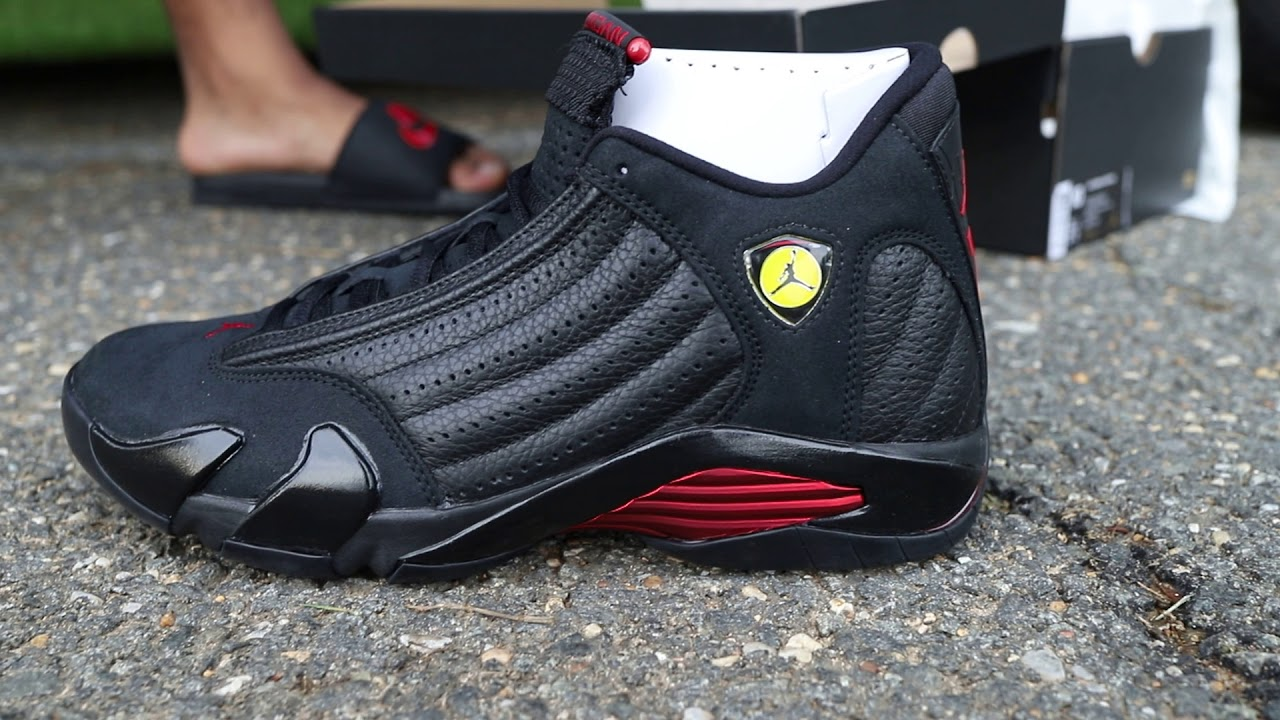 "3768907f2b9 Air Jordan 14 ""Last Shot"" (Dope or Nope) + On Foot - YouTube"