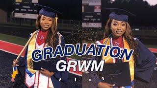 GRADUATION GRWM + SCHOOL REVEAL VLOG | I SPOKE AT GRADUATION!