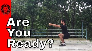 Training Before Going to a Kung Fu School in China