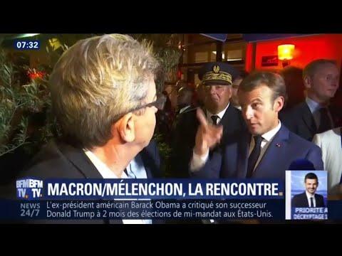 Macron/Mélenchon: la rencontre