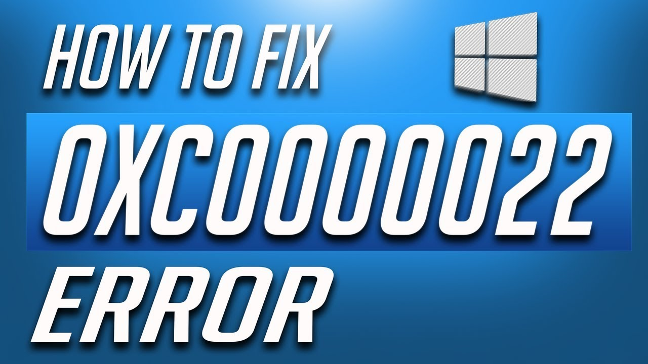 How to Fix Error 0xc0000022 in Windows 10 - QUICK AND EASY!