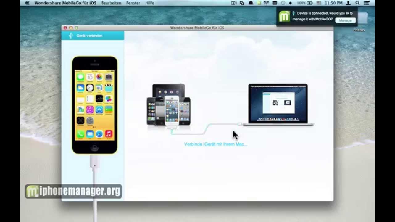 wie iphone übertragen