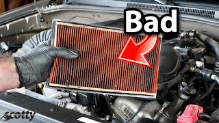 Here's Why These Air Filters Destroy Your Car's Engine