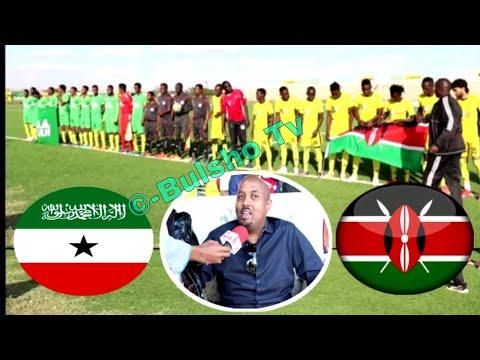 Somaliland Oo Kenya Ku Garaacday Ciyaar Xiiso Badan Oo Hargeisa Ku Dhex Martay