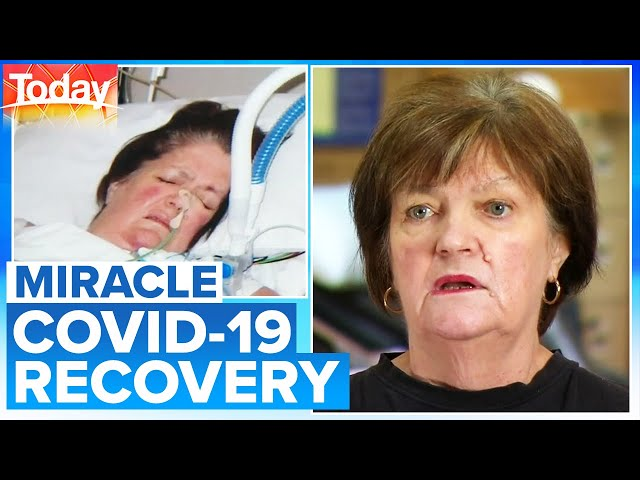 """70-year-old reveals \""""miracle\"""" recovery from COVID-19 