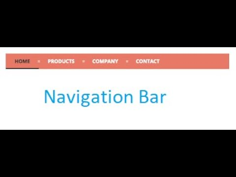 #1. Quiz Web Application Development: Create Navigation Bar: Web Application Development Tutorial thumbnail