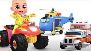 Bobo Plays car at Home | Kid at Home | Games Song + More Nursery Rhymes & Kids Songs -Jugnu Kids