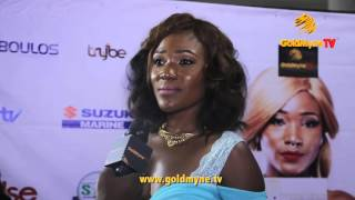 KUNLE AFOLAYAN DORIS SIMEON FRED AMATA AND OTHERS AT MOVIE PREMIERE quotJUST NOT MARRIEDquot
